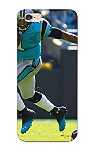 Slim Fit Tpu Protector Shock Absorbent Bumper Carolina Panthers Nfl Football Case For Iphone 6 Plus