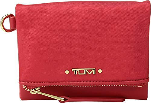 TUMI - Voyageur Flap Card Holder Case - Compact Wallet for Women - Sunset