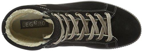 Mujer para Zapatillas Schwarz Negro Schwarz Tanaro Legero Altas 00 x7BRtw