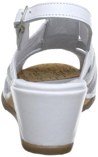lavendel Comfortabel Donna 3 weiss Bianco 710602 Sandali qgdqB6