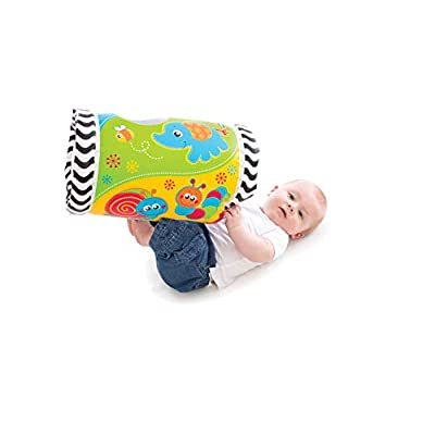 Playgro Baby Toy Tumble Jungle Musical Peek in Roller 0184970 for Baby Infant Toddler Children is Encouraging Imagination with STEM/STEAM for a Bright Future - Great Start for A World of Learning : Baby