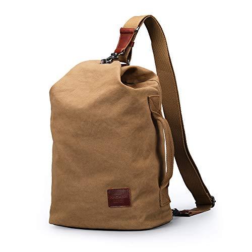XINCADA Mens Messenger Bag Chest Shoulder Bag Canvas Sling Bags Crossbody Small Bags for Men