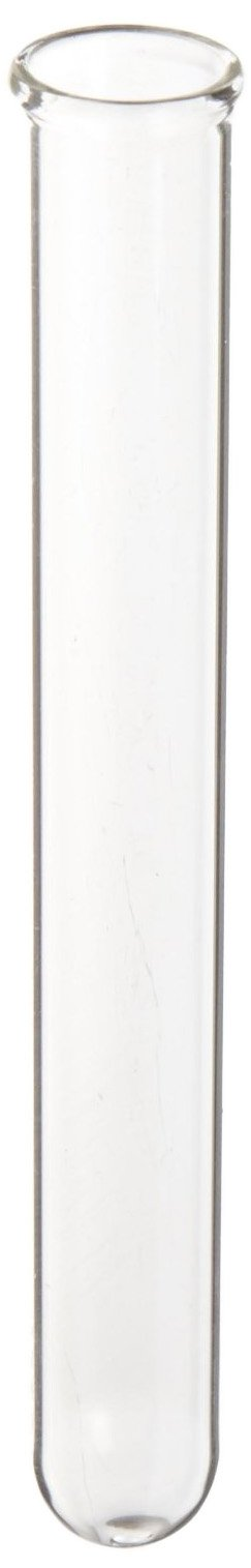 American Educational Borosilicate Glass Round Bottom Test Tube, 16mm OD x 150mm Length (Pack of 72)