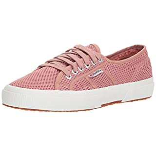 Superga Women's 2750 MESHU Sneaker, Rose, 39 M EU (8 US)