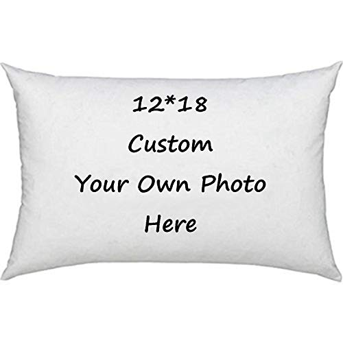 Design Your Own Photo Pillowcase Two-Sides Printed Cushion Covers Custom Cotton Throw Pillow Cases
