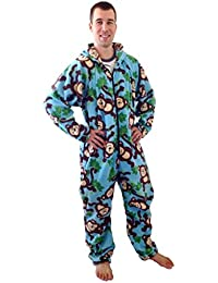 b5cfeb305d37 Forever Lazy Non-Footed Adult Onesies