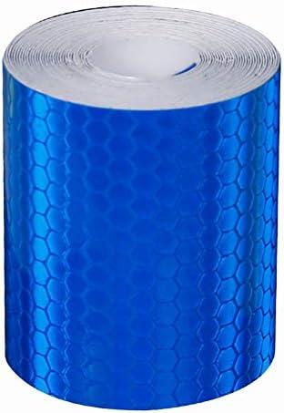 Vert Gcroet 1pc Polyvalent R/éfl/échissant De S/écurit/é Autocollant Tapes R/éflecteur pour V/élo De Nuit De La S/écurit/é Routi/ère Avertissement R/éflexion Autocollant