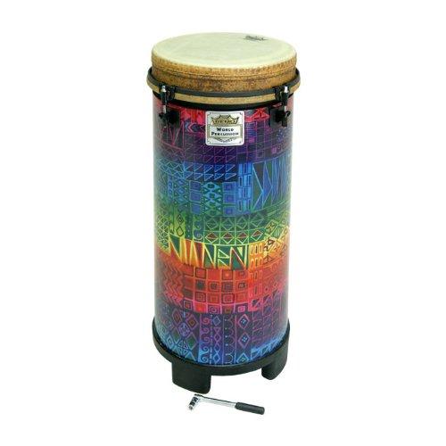 Remo TU-1110-17 Tubano, 27 x 10 Inches,Drumkey Tuned,Rainbow by Remo