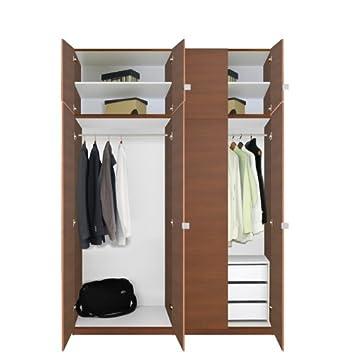 Amazon.com: Alta clóset Closet – Armario con 3 cajones del ...