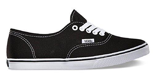 Vans Unisex VANS AUTHENTIC LO PRO SKATE SHOES 5 Men US / 6.5 Women US ( BLACK/TRUE WHITE ) (Girl Vans)