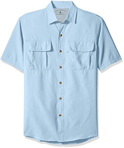 9998890ffe3 G.H. Bass & Co. Men's Explorer Point Collar Short Sleeve Fishing ...