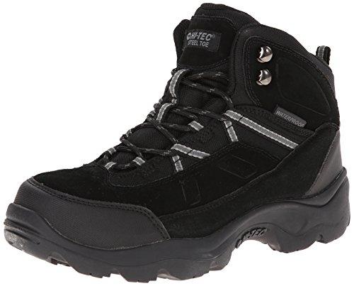 Bandera Black Boots - Hi-Tec Men's Bandera Pro Mid ST Work Boot,Black,11.5 M US