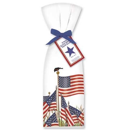 American-Flags-Towel-Set