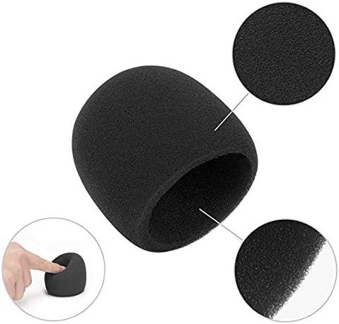RXING Mousse Micro Anti Bruit,Bonnette Filtre Micro Anti Vent Pop pour Microphone /à Condensateur pour Blue yeti//Pro