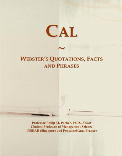 Cal: Webster's Quotations, Facts and Phrases PDF