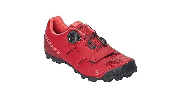 Scott MTB Team Boa 2019 - Zapatillas de Ciclismo para Mujer, Color Rojo: Amazon.es: Deportes y aire libre