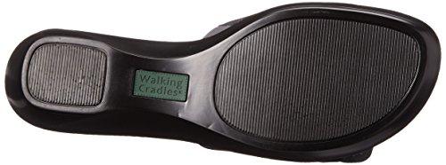 Cuddle Pewter Kidskin Cradles Sandal Wedge Walking Women's Soft XExFxO