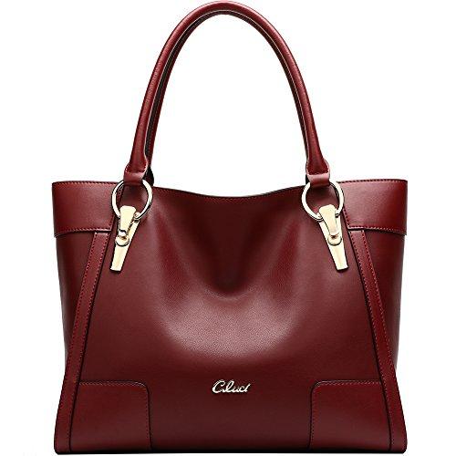 Leather Handbags Shoulder Top handle Clearance