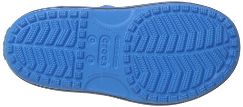 crocs Unisex-Kinder Cbnd2ledsndlk Clogs Blau (Cerulean Blue Navy)