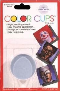 Mehron Professional Colour Cup Make Up - Moonlight White by mehron