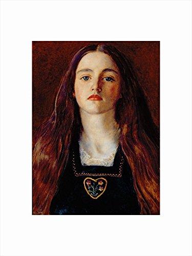 Magnolia Box 30 x 40 cm Small Portrait of a Girl Fine Art Print by Magnolia Box
