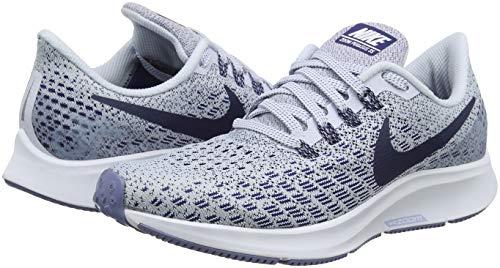Running 35 Zoom Eu white Air 005 Void football Donna Scarpe Grigio 41 Da Pegasus Nike blue Grey qaYtwp4q