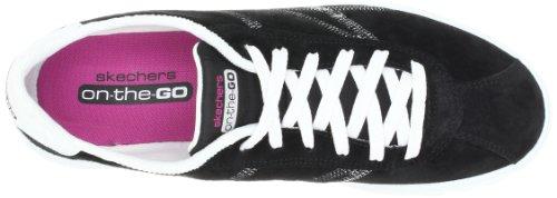 Skechers Performance - Zapatillas de deporte de piel para mujer Negro (Noir (Bkw))