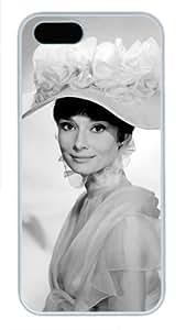 Audrey Hepburn Iphone 5 5S case Custom case for Iphone 5 5S