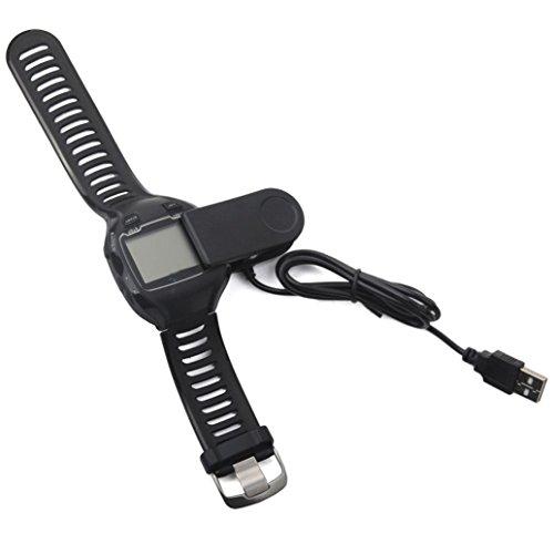 For Garmin Charger Dock,Elevin(TM) Garmin Forerunner 310XT 405 405CX 410 910XT GPS Rangefinder Watch Charging Cradle Dock Charger