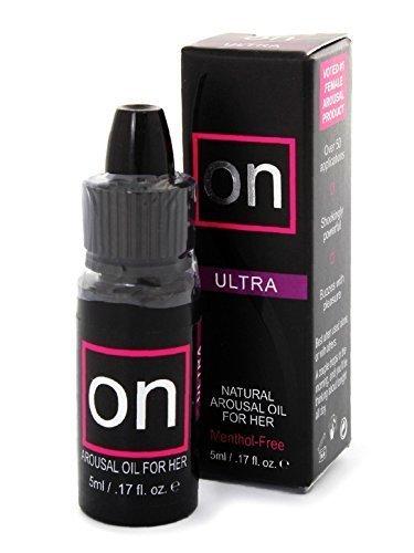 Sensuva ON Sexual Entrancement Clitoral Arousal ULTRA OIL for Women: 1.7 Oz 5 Ml. by sensuva