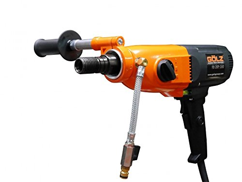 Hand Held Core Drill FB20P by Gölz Single phase, 3-speed, 110v 20A Includes Pistol Grip Handle, comes with carrying case – Wet/Dry use