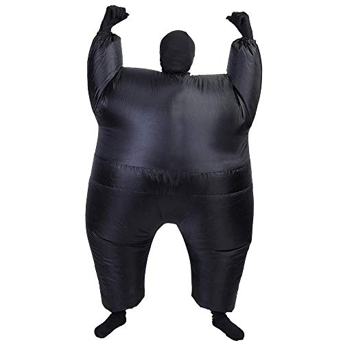 AltSkin Mega Suit Inflatable Zentai Costume, Black ()