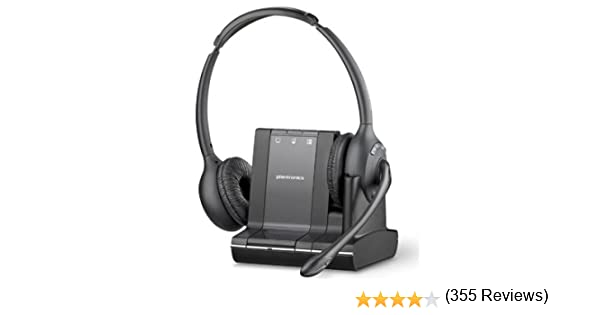 Plantronics Savi W445  Charge Cradle Base Stand and power cord open box