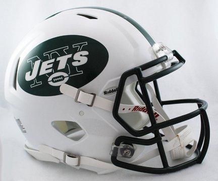 Riddell New York Jets NFL Authentic Speed Revolution Full Size Helmet from