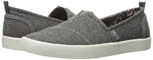 Skechers BOBS Women's Bobs-b Love Flat, Charcoal, 5.5 M US by Skechers (Image #6)'