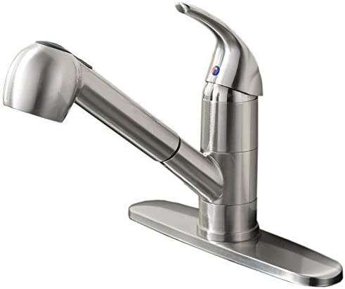 Ufaucet Commercial Brushed Stainless Finished product image