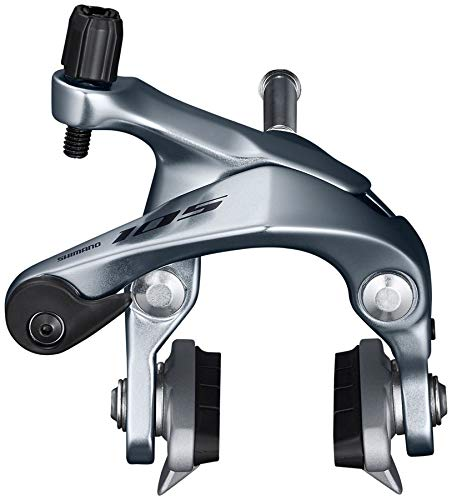 SHIMANO 105 Caliper Road Bicycle Brake - Front - BR-R7000 (Silver - Front)