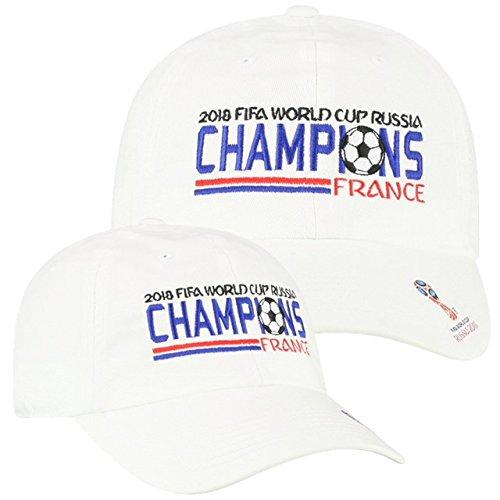 Elite Fan Shop France 2018 World Cup Champions Hat ()
