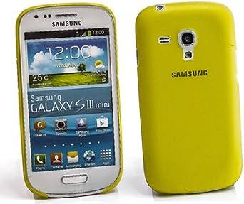 TP Slim para Samsung Galaxy SIII S3 Mini i8190 i8195 Amarillo ...