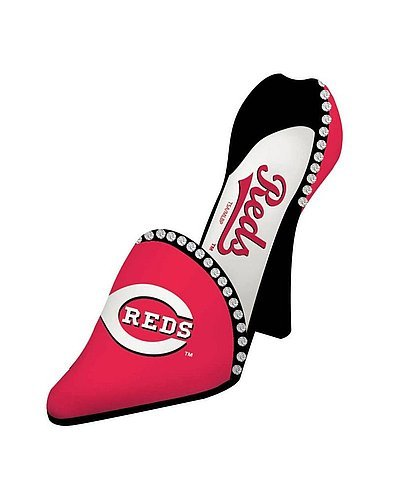 Cincinnati Reds Decorative Wine Bottle Holder - Shoe - MLB Licensed from Sports Collectibles