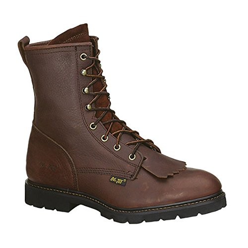 Adtec Mens Chestnut 9in Lacer Work Boots Leather Packer 12 M Packer Western Lacer Boots