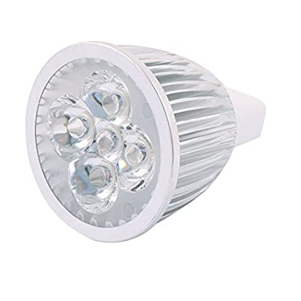 eDealMax DC 12V 5W MR16 5 LED ultra brillante COB bulbo del ...