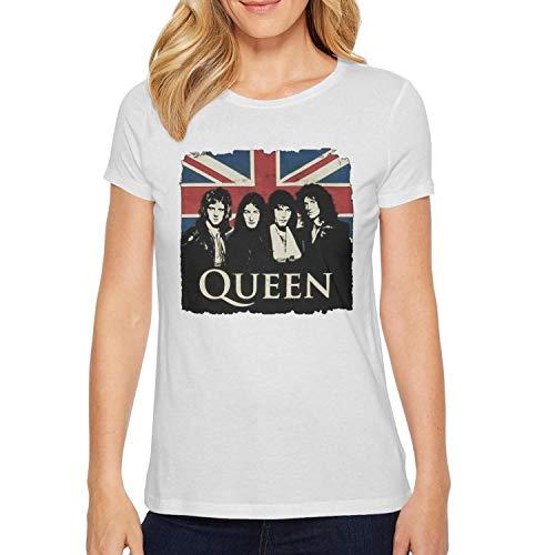 Women's t Shirts Custom Musically Short Sleeve Cotton tee Shirts