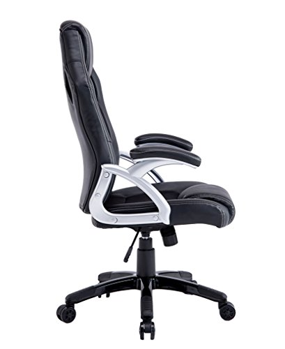 41 Ac1jhucL - Best-Choice-Products-Executive-Racing-Office-Chair-PU-Leather-Swivel-Computer-Desk-Seat