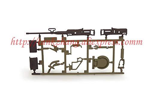 - Hockus Accessories 3838/3838-1 RC Tank Snow Leopard 1/16 Spare Parts No.Accessory A / Plastic Parts