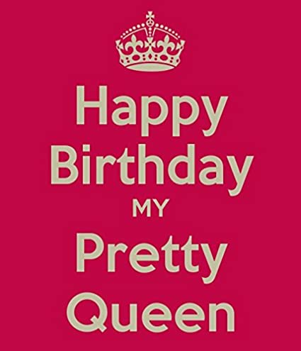 Keep Calm Happy Birthday My Preety Queen Hd Poster Wallpaper On Fine