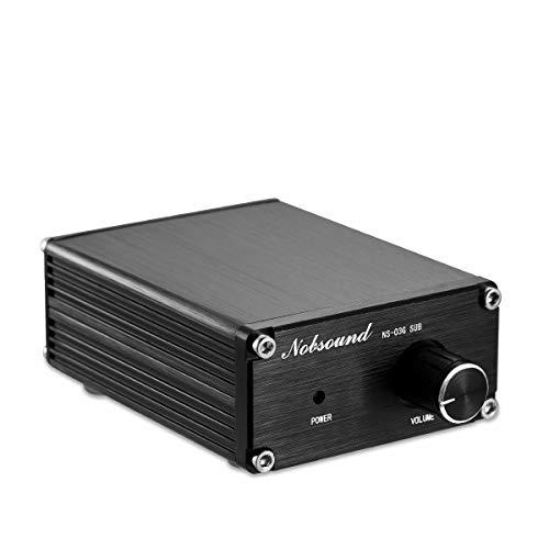 Nobsound 100W Subwoofer Digital Power Amplifier Audio Mini Amp (Subwoofer, Black)