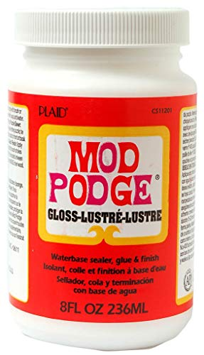 Mod Podge Waterbase Sealer, Glue and Finish (8-Ounce),