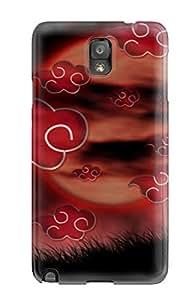 GyPilzm9753KhsrX Tpu Case Skin Protector For Galaxy Note 3 Akatsuki With Nice Appearance