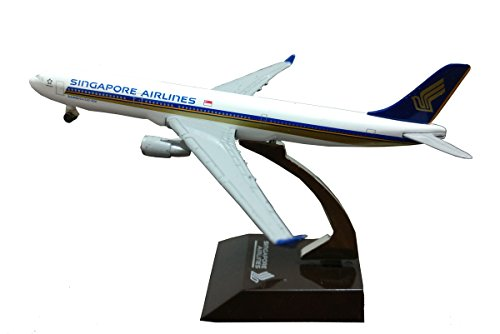 Singapore Airlines Airbus 330 300 A330 Scale 1 500 Metal Aircraft Model
